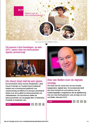 Nieuwsbrief 15 December 2016