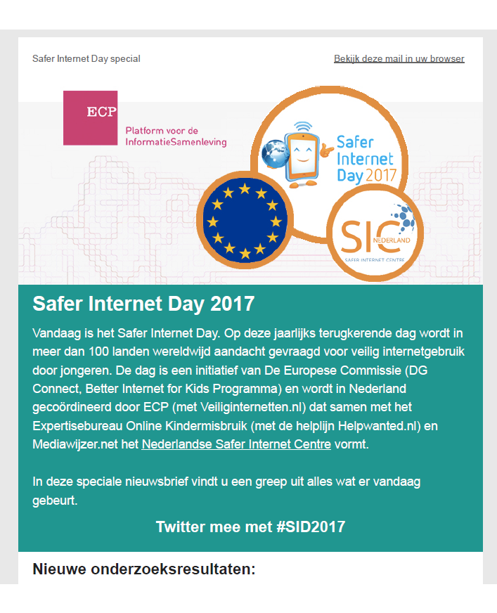 ECP Safer Internet Day Special 2017