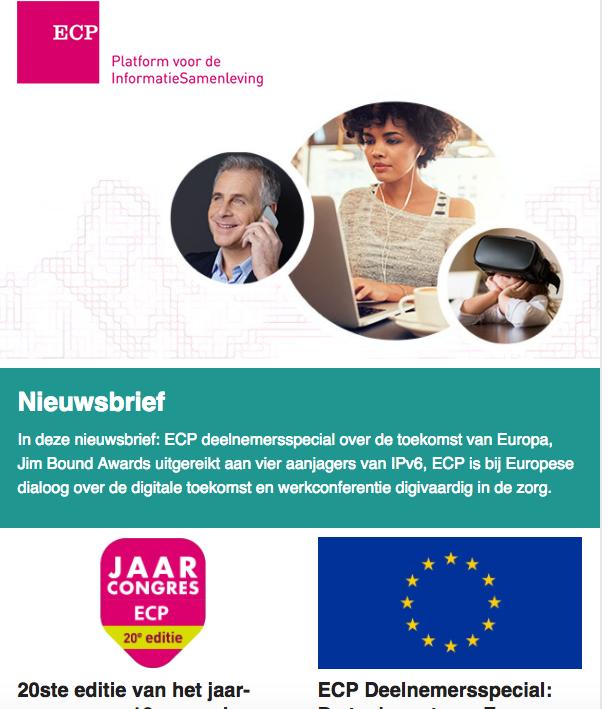 ECP Nieuwsbrief juni 2017