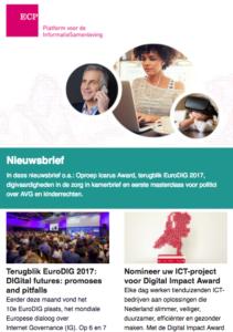 ECP Nieuwsbrief 22 juni 2017