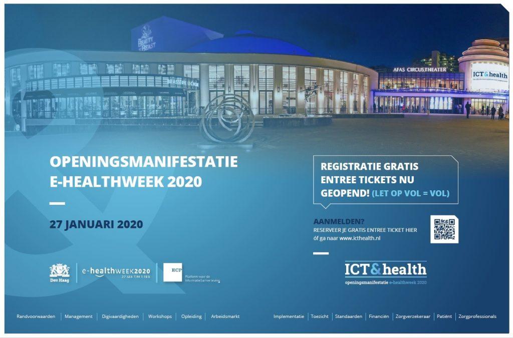 e-healthweek opening flyer